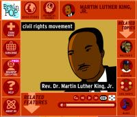 Free video on BrainPOP and a packet of activities to do with the video    mlk jr day mini lesson?