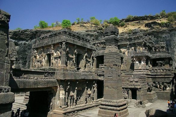 Ellora Caves – Verul, India - Atlas Obscura