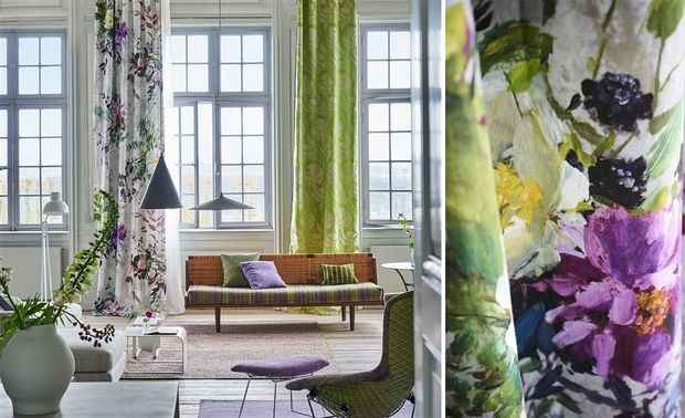 53 best telas cortinas y alfombras images on pinterest - Designers guild telas ...