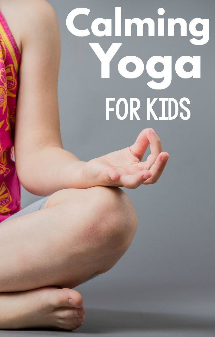 Kids yoga poses that can help kids calm down. A great calm down activity for kids, but also equally as great as a brain break for kids. These ideas are perfect for yoga for kids and yoga for the classroom. A great physical education activity as well! #yoga #brainbreaks #classroommanagement