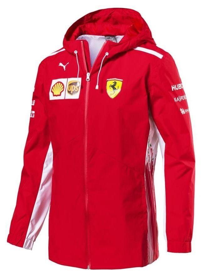 Giacca Puma Scuderia Ferrari Team Replica Red | Giacca da ...
