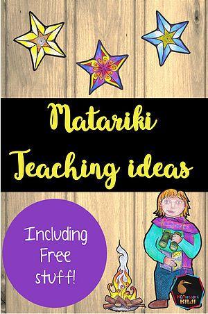 Montessorikiwi: Downloadable Montessori teaching resources   Matariki