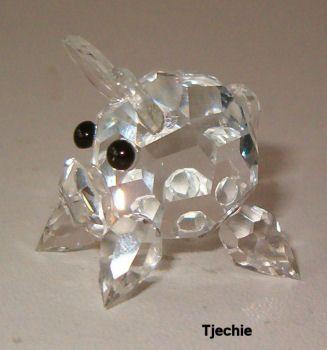 Glazen varkentje TE KOOP voor 4,98 euro - http://fmlkunst.home.xs4all.nl/varkenscollectie2/varkens2.htm