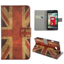 Custodia a Libro LG L70 Design Bandiera UK 1 € 9,99