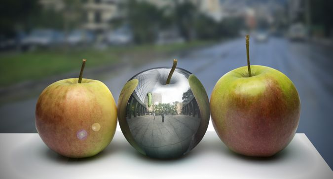 How To Create A Photo Realistic Metal Apple In Photoshop