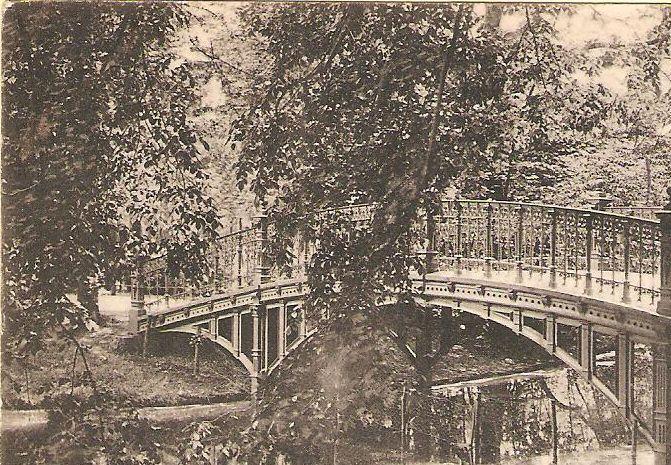 amsterdam Brug Vondelpark 1905