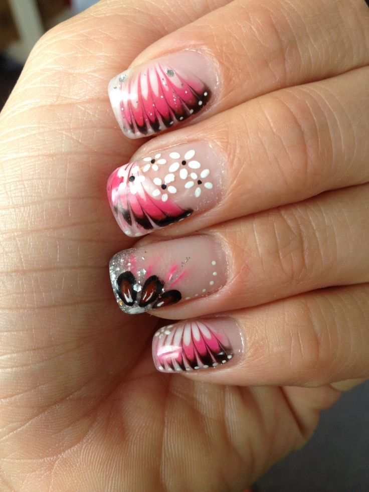 17 best images about ongles en gel on pinterest nail art. Black Bedroom Furniture Sets. Home Design Ideas
