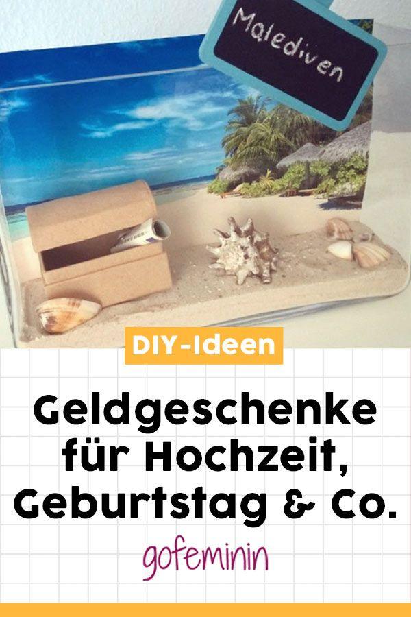 Kreative Ideen für Geldgeschenke #hochzeitsgeschenk #geldgeschenke #diyideen #bastelideen #geldscheinefalten #hochzeit #geburtstagsgeschenk