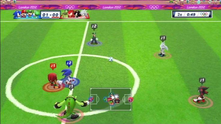 Mario et Sonic aux Jeux Olympiques de Londres 2012 - Football (VS)