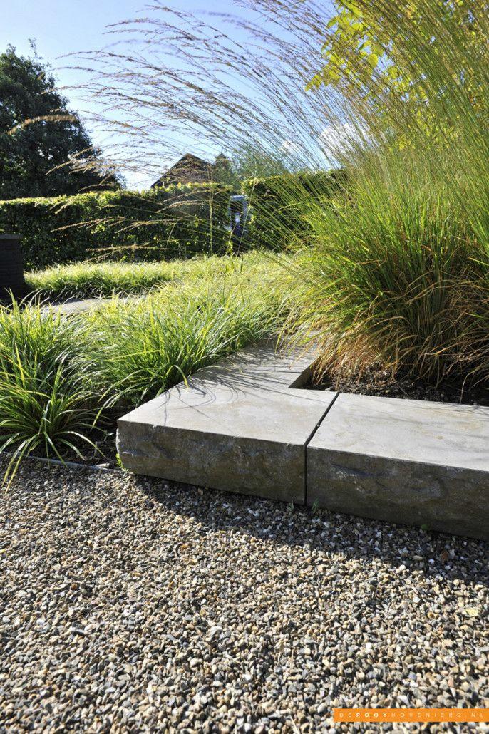 Tuin ideeën De Rooy Hoveniers natuursteen bedrijfstuin Dussen