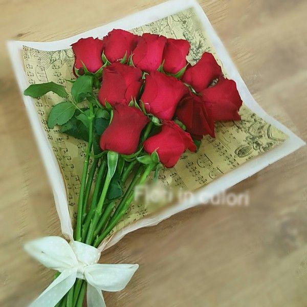 Aranjament cu trandafiri roz si portocalii AR205 | Floraria Online FLORI IN CULORI TIMISOARA