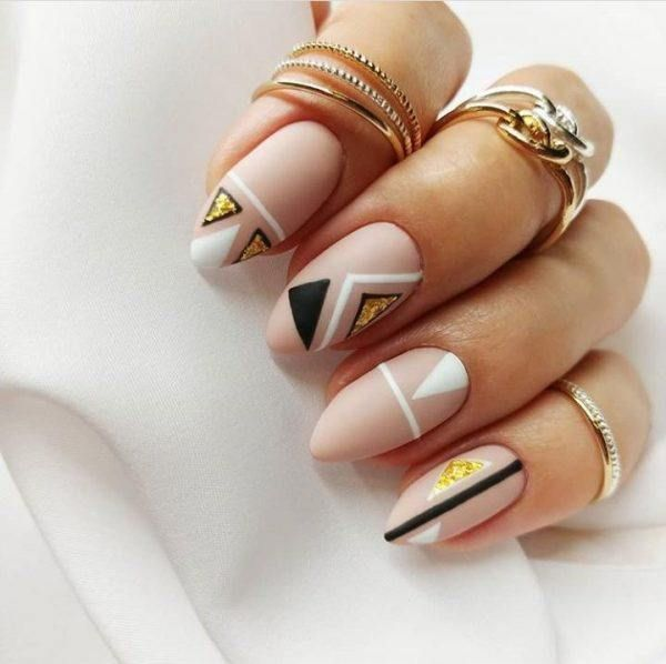 60 Cool Abstract Nail Art Ideas To Try This Year Elegant Nail