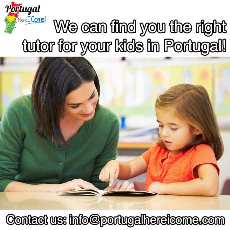 Find the right tutor for you kid in Portugal. #portugal #tutoring #portugalhereicome