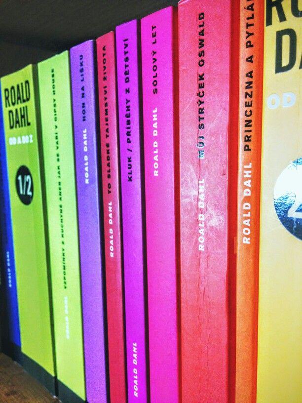 Jakože jak? Vybrat jedinou Dahlovu knížku? To nejde. To se prostě musí dát naráz. A basta. Nevím sice, kdo jste panáčku, ale hrozně jste mě potěšil. (Roald Dahl)