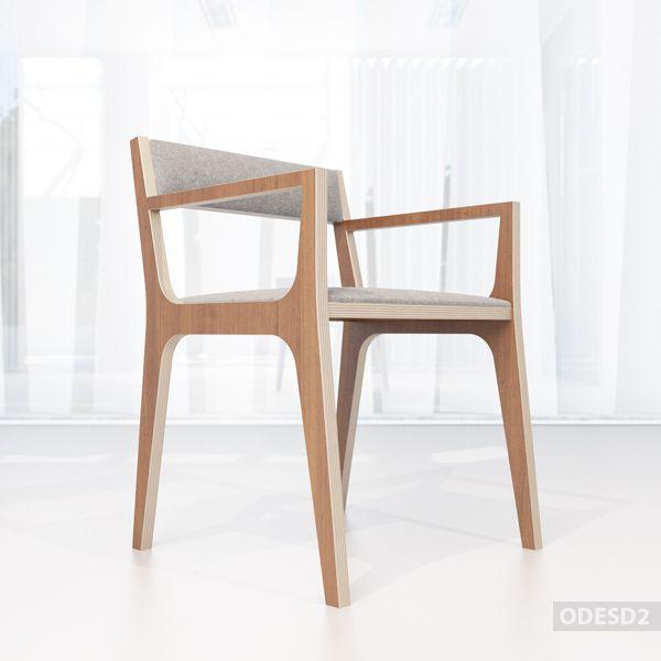 стул С2 - дизайнерская мебель от дизайн-бюро ODESD2