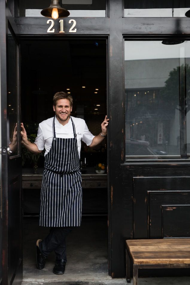 Celebrity chef Curtis Stone has a lot on his plate. Read about the adventures of this Australian culinarian in an interview by Michelle Tchea.