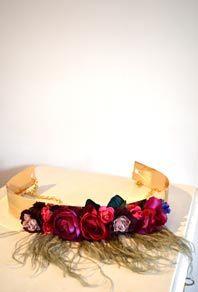 Cinturon flores
