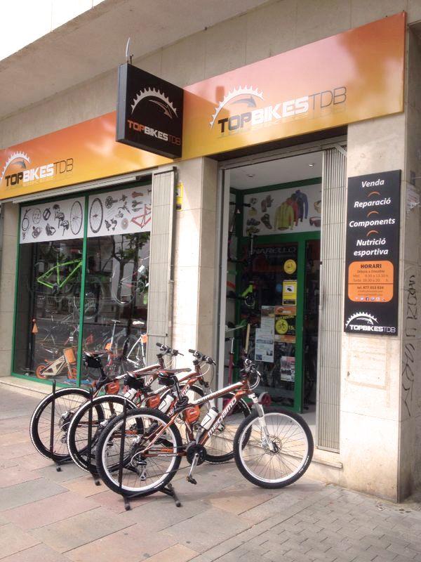 Us presentem una de les primeres novetats de la temporada... Top Bikes Rent, la iniciativa de lloguer de bicicletes de Top Bikes TDB! Esperem que agradi la idea tant com a nosaltres :) / Os presentamos una de las primeras novedades de la temporada... Top Bikes Rent, la iniciativa de alquiler de bicicletas de Top Bikes TDB! Esperamos que guste la idea tanto como a nosotros :)