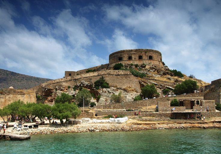 Historic fortress of Spinalonga island, Greece