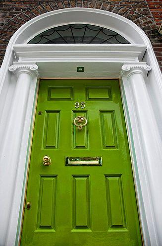 I love a green front door…Garden, Home and Party: Front Doors