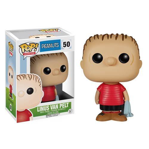 Peanuts Linus van Pelt Pop! Vinyl Figure - Funko - Peanuts - Pop! Vinyl Figures at Entertainment Earth