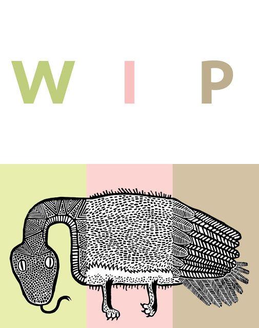 polska ilustracja dla dzieci: Zapowiedź - Pora na potwora