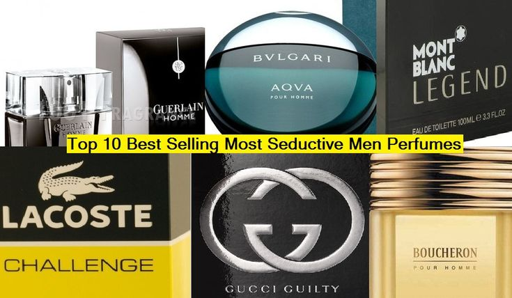 Top 10 Most Seductive Best Men Perfumes of all Time - List of Hot Selling Brands