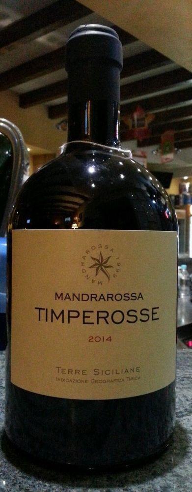 Vino Timperosse Mandrarossa BARILOTTO MAGNUM  IGT  2014 1,5 LT