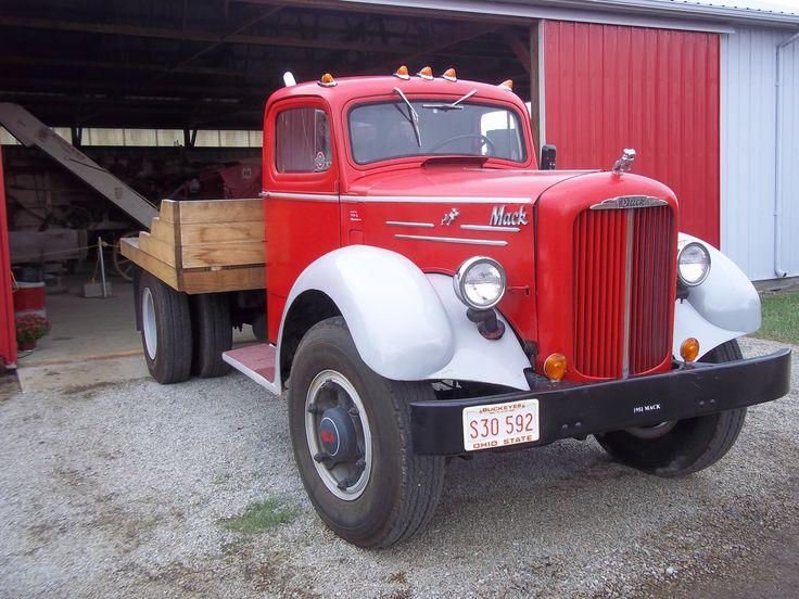 1950 To 1965 Mack Trucks : Best mack trucks images on pinterest