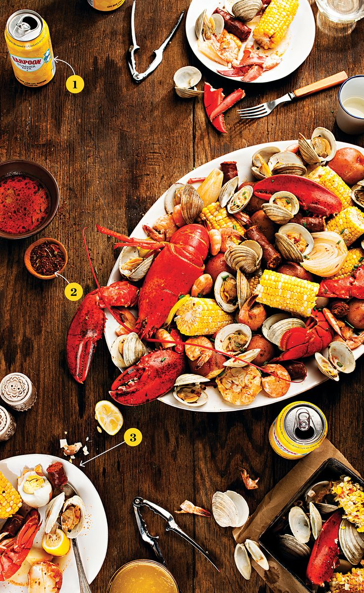 Yes please! A summer must! Boston Magazine shares How-To Throw a Clambake