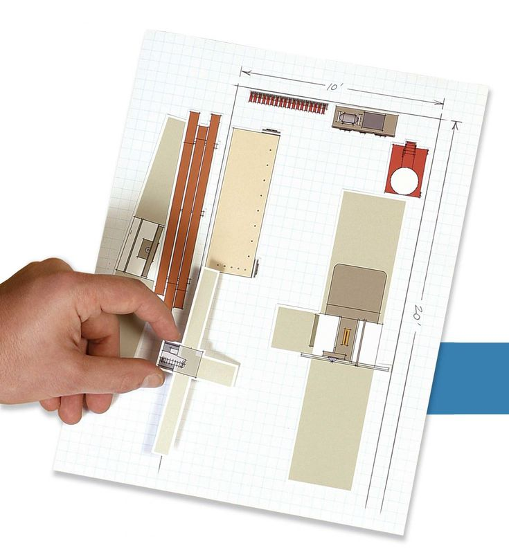 21 best woodshop plans images on pinterest garage for Furniture arrangement tool