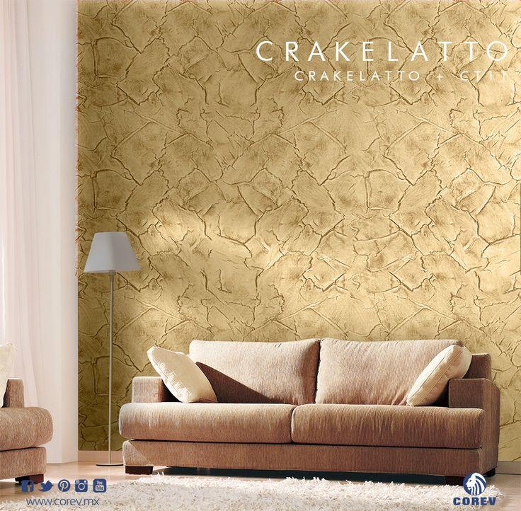 La elegancia y textura nica que tiene crakelatto es ideal for Algo fuera de serie