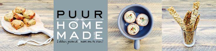 Puur Homemade | Gezond & toch lekker, maar het oog wil ook wat! by Cilla Tibbe
