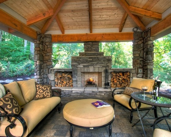 Covered Patio Design Pictures Remodel Decor And Ideas