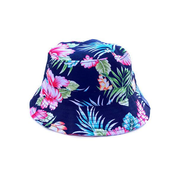new concept 18d82 2b315 ... discount code for radisrad hula bucket hat in hawaiian floral 25 liked  on polyvore featuring mens