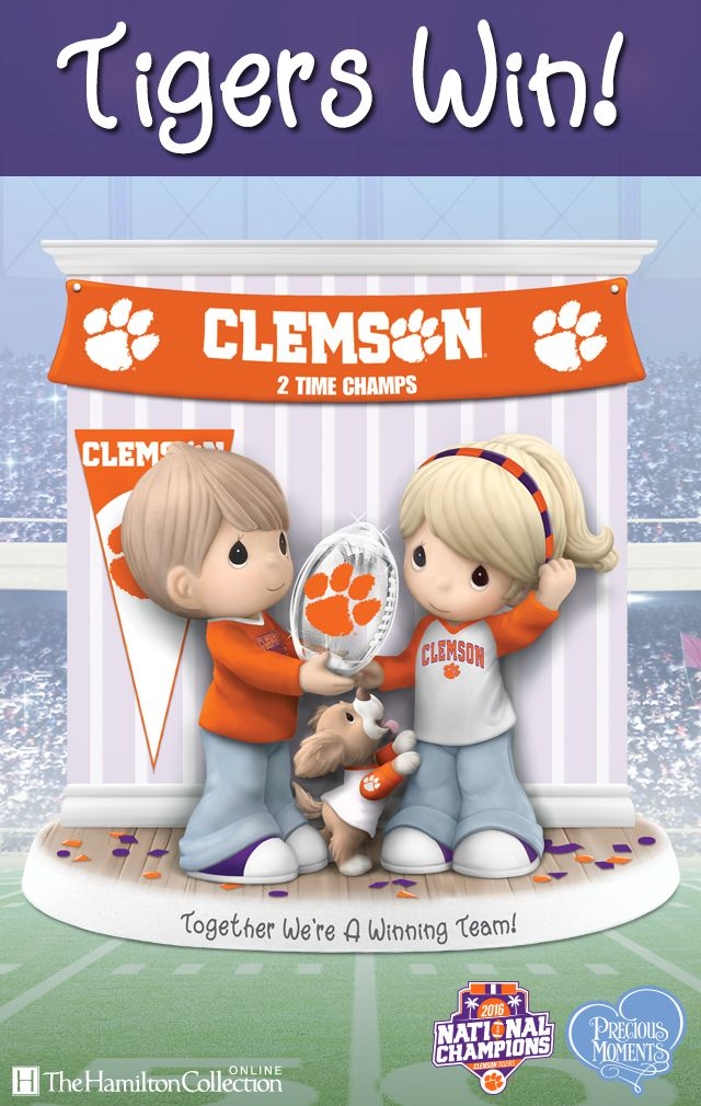 Celebrate the winners of the 2016 National Championship! Congratulations Clemson Tigers! Shop Now.