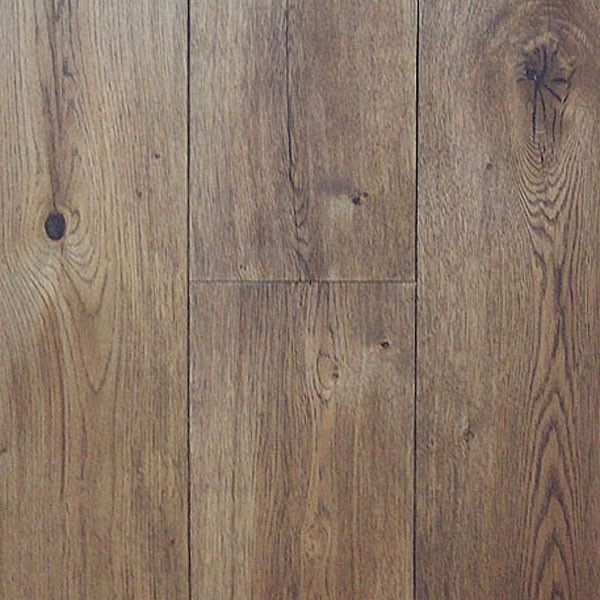Wide Plank Engineered Wire Brushed Cognac White Oak Hardwood Floor -hardwood bargains.com