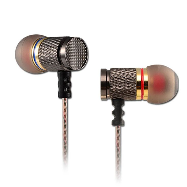 KZ EDR1 Gold Plated Earphones Noise Cancelling Earbud