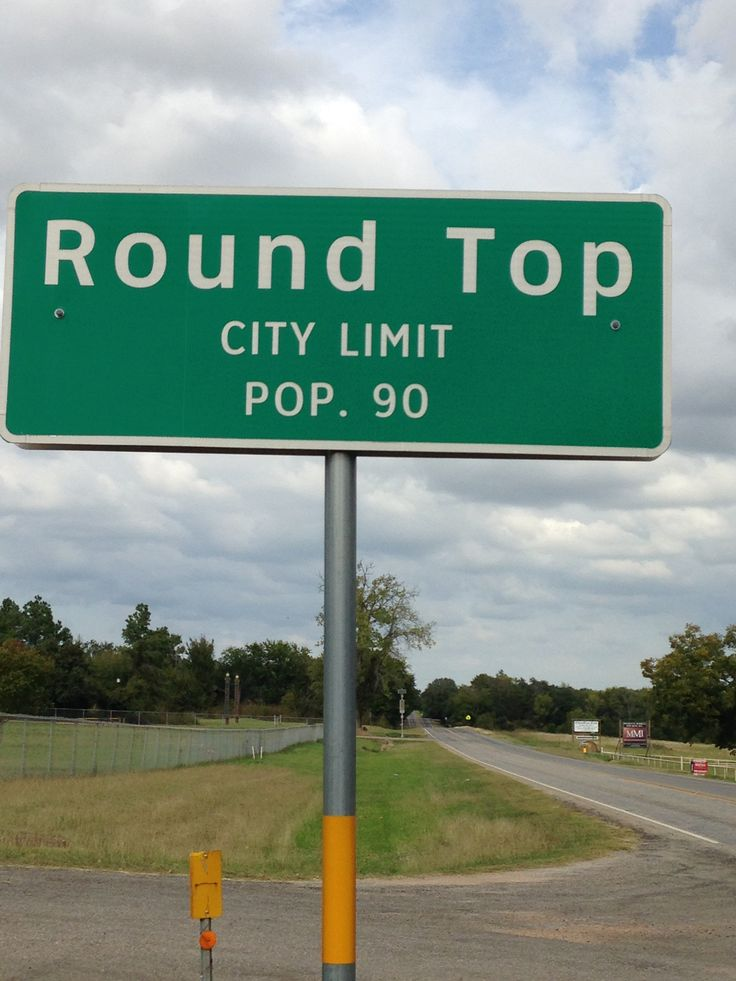 Round Top in Texas