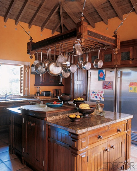 Kitchen Design Hanging Pots And Pans: My Pots And Pans Aren't Pretty Enough To Hang. But If They