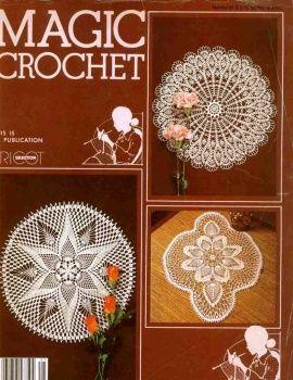 Magic Crochet № 21 1982