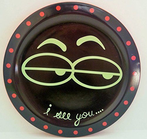 i see you ceramic halloween plate grassland roads httpwww - Halloween Ceramic Plates