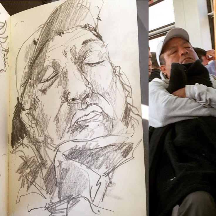 #gentequesedibujaeneltren #bocetorapido #boceto #sketchbook #sketch #lapiz #pencil #6B #dibujo #dibujar