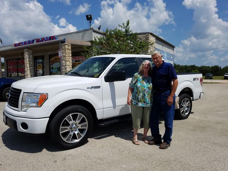 CLIFFORD AND MARLENE, we hope you enjoy your new 2014 FORD F150.  Congratulations and best wishes from Benny Boyd Motor Company - Marble Falls and DEE NIXON.