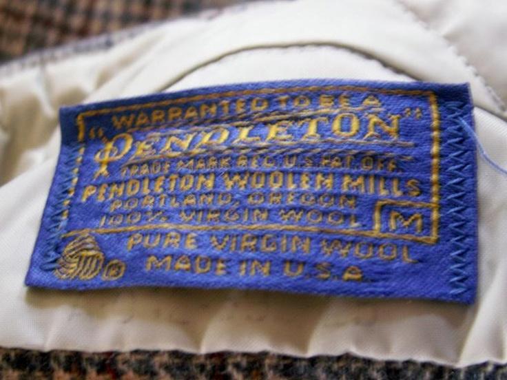 Vintage neck labels #MENSCLOTHING