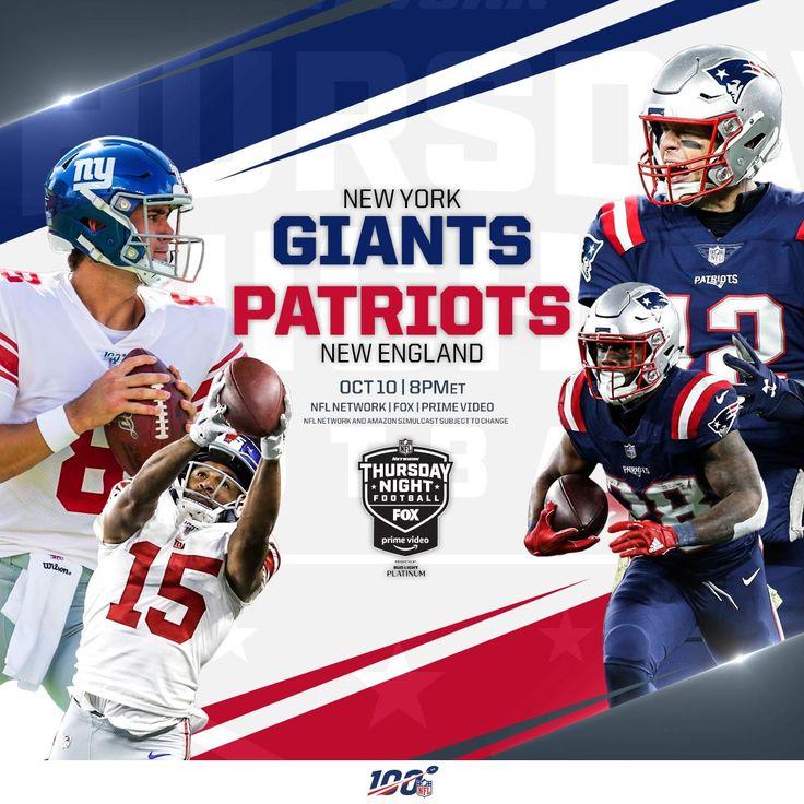 "[Official/^Stream] ""giants vs patriots"" LiVe StreaMs"