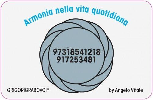 Tessera Radionica 07 - Armonia nella Vita Quotidiana