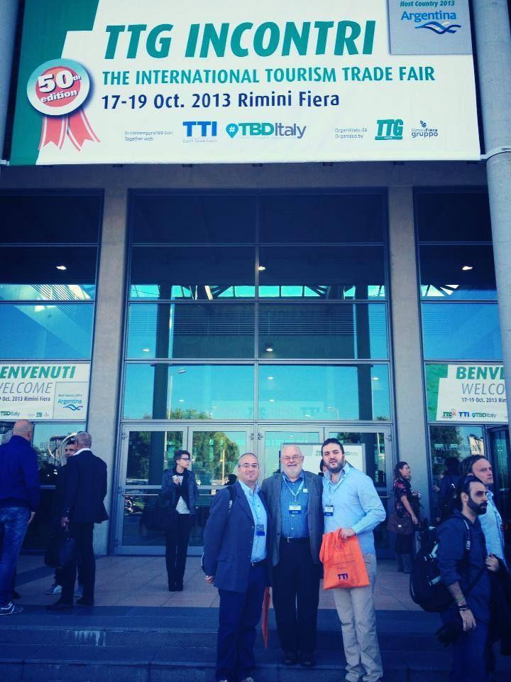 FIBI's Delegation @ TTI Rimini - Italy