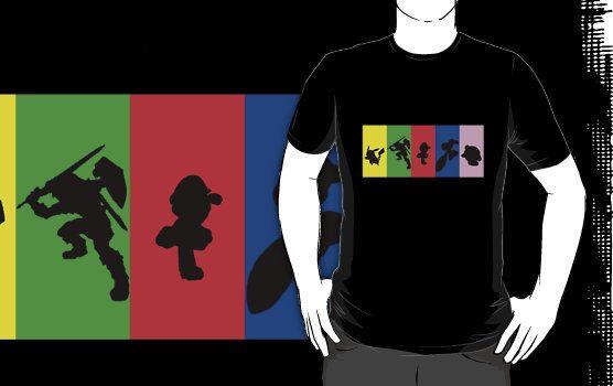 Heroes - Mega Man, Mario, Link (Zelda), Kirby, Pikachu