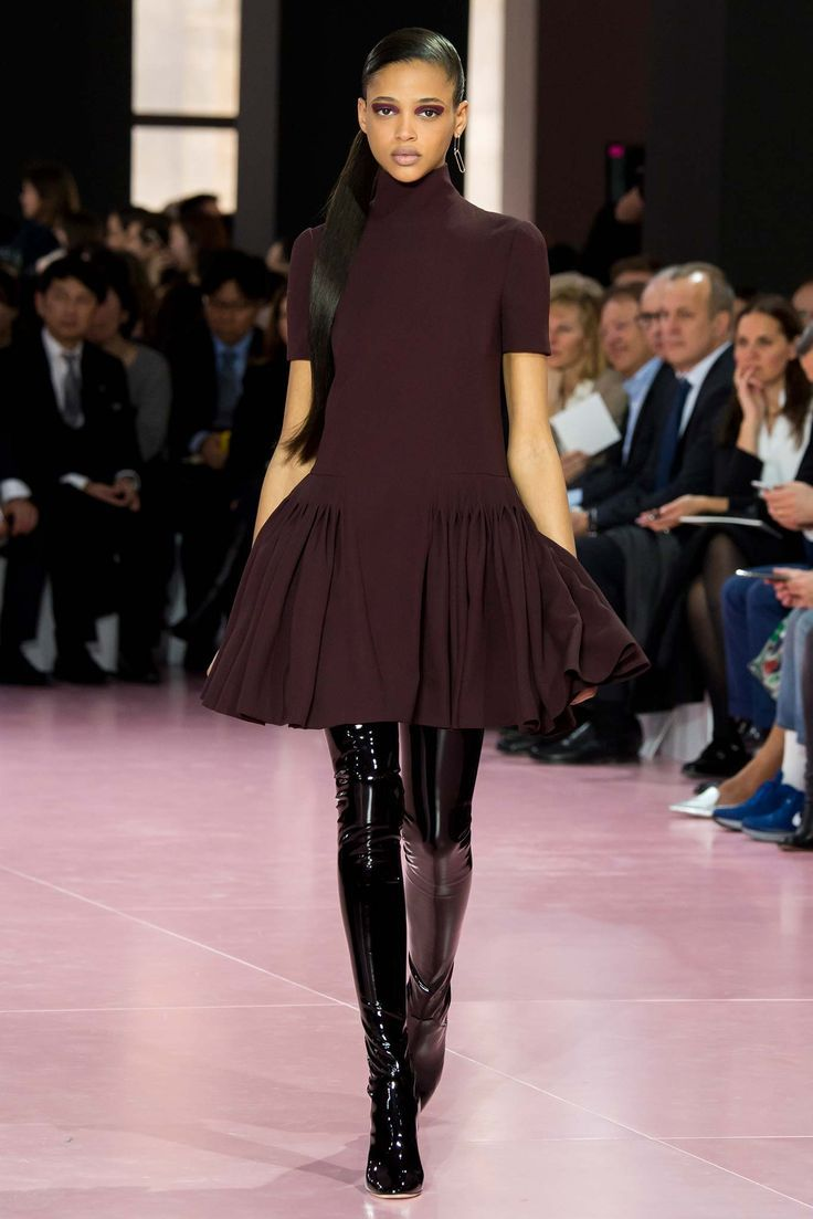 Aya Jones @ Christian Dior Fall 2015 Ready-to-Wear